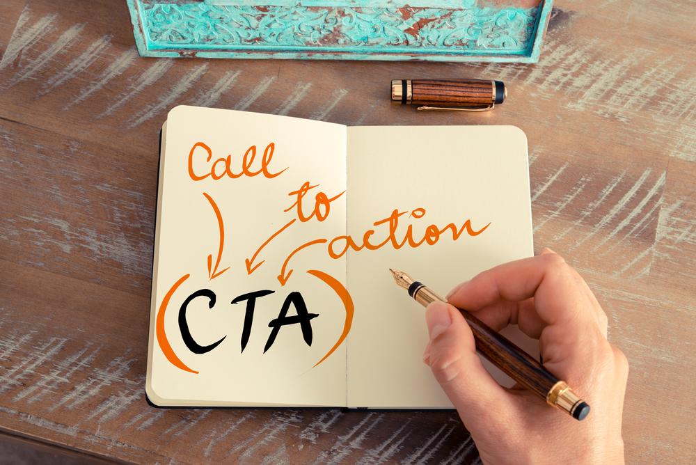 Rola przycisku CTA w landing page'u