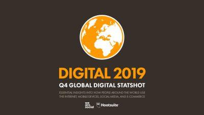 We Are Social: Podsumowanie roku 2019